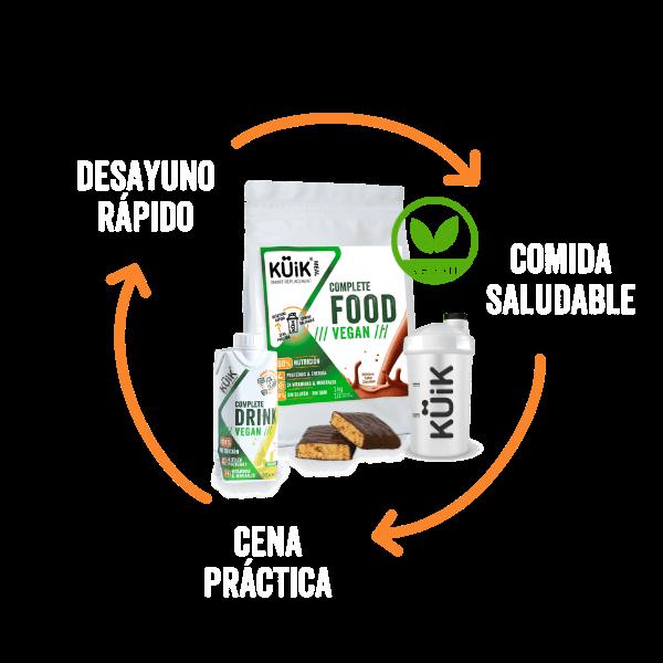 KUIK - Batidos y snacks 100% nutritivos
