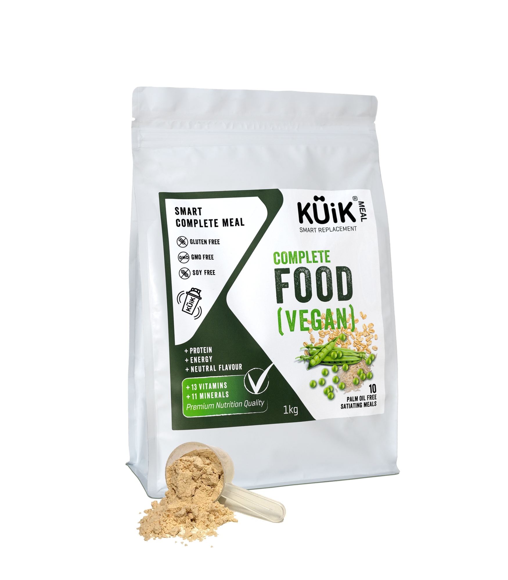 Kuik Meal Vegan Complete meal replacement