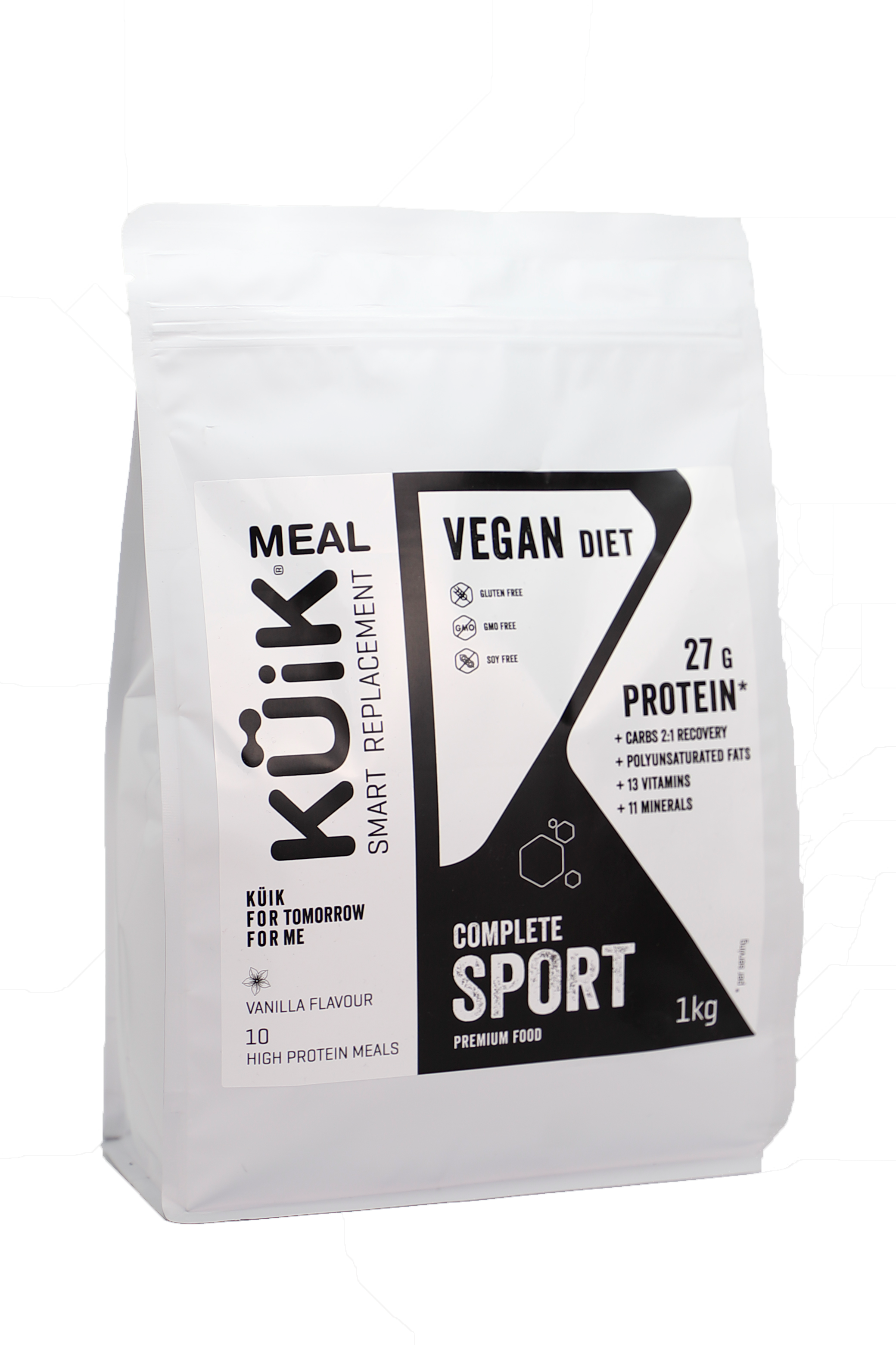 Kuik Meal Vegan Complete meal replacement for sport