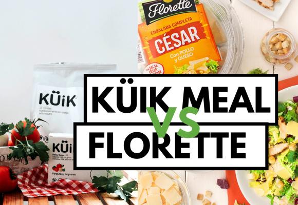 KÜiK Meal vs Ensalada Florette