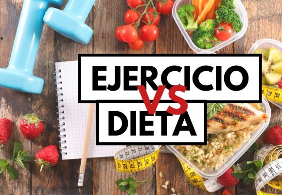 ¿Qué es más importante, el ejercicio o la dieta?