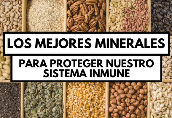 Hierro, Selenio, Zinc y Cobre: descubre sus beneficios.