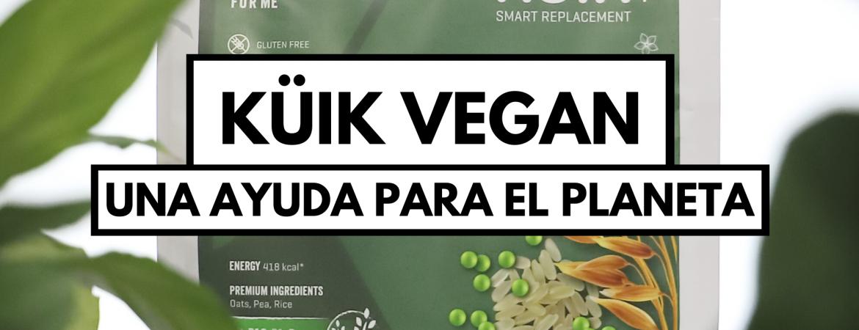 KÜiK Vegan, una ayuda para el planeta